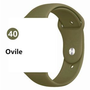 NEW Olive Sport Silicone For Apple Watch